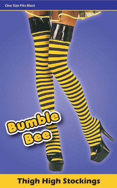 Bumble Bee Stockings Wasp Insect Bee Fancy Dress